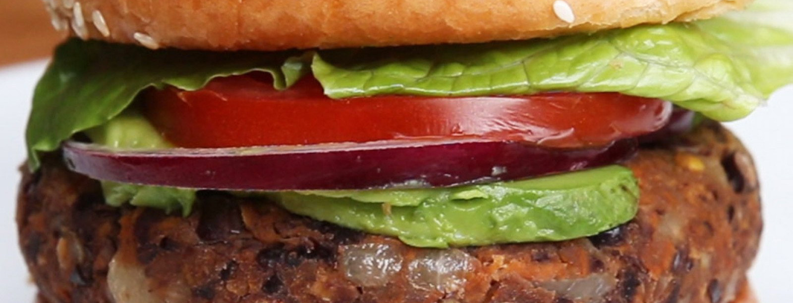 Out of this world vegetarian burgers